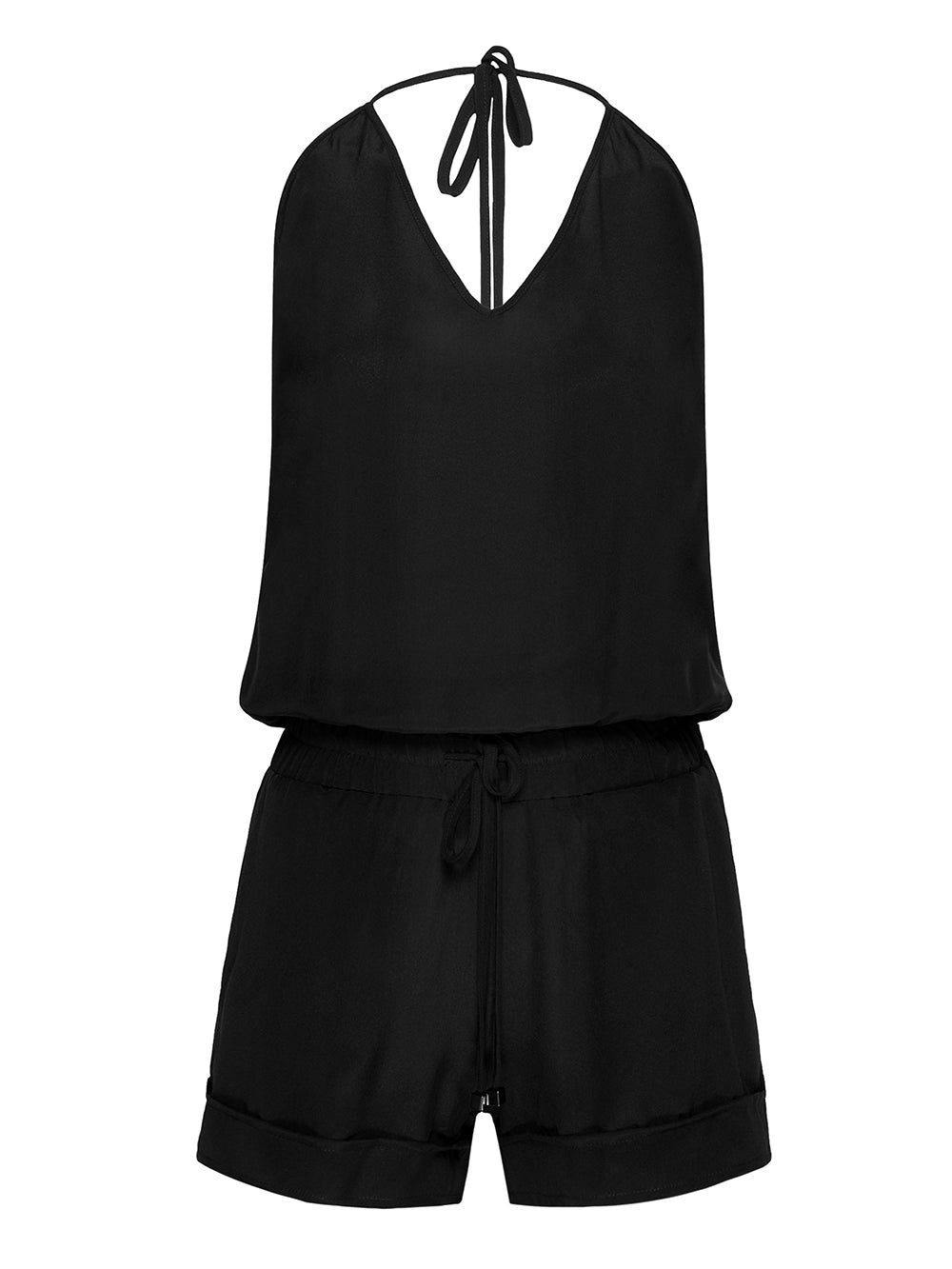 EASY WAY SILK PLAYSUIT