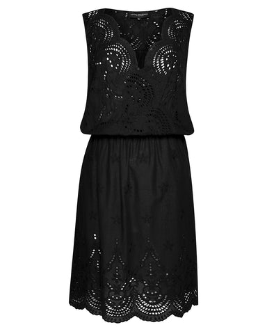 CHAMPAGNE RUSH DRESS