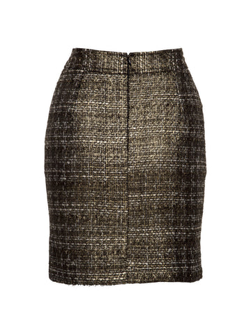 We Have Lingered Boucle Skirt