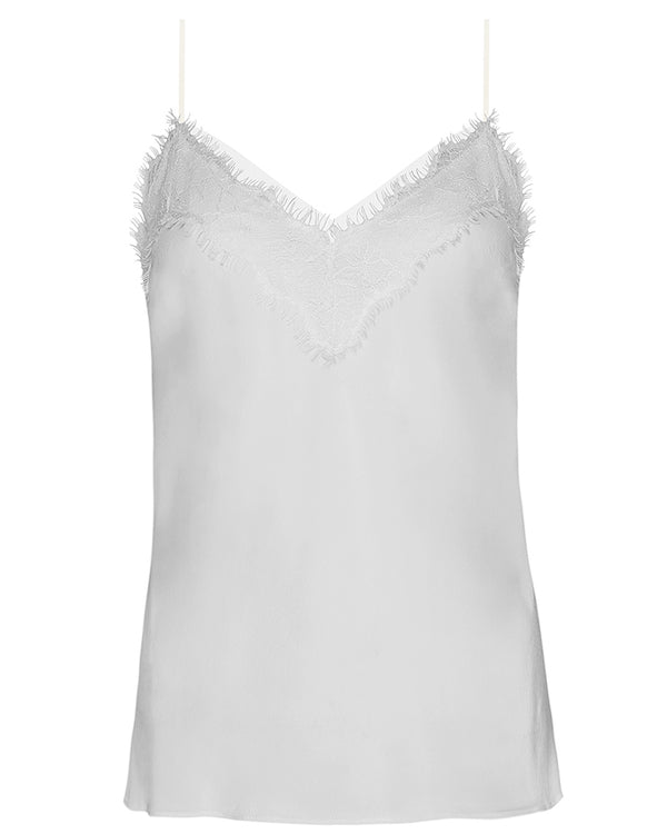 PRETTY LANE SILK CAMISOLE