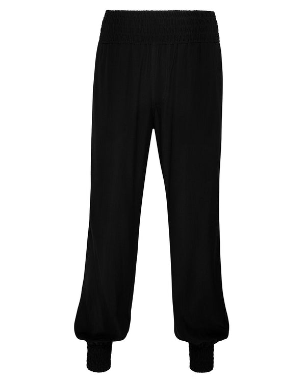 PANT, SILK, BLACK, GAIL, LITTLE JOE WOMAN,