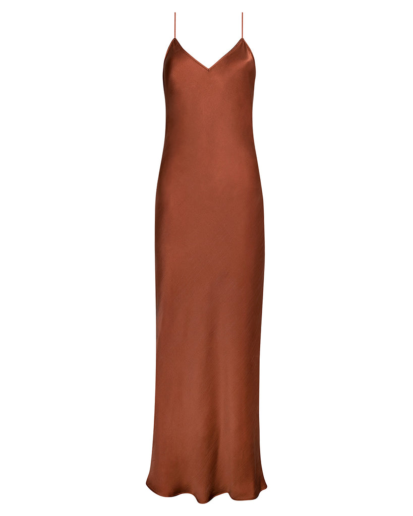 VISION OF LOVE SILK MAXI DRESS