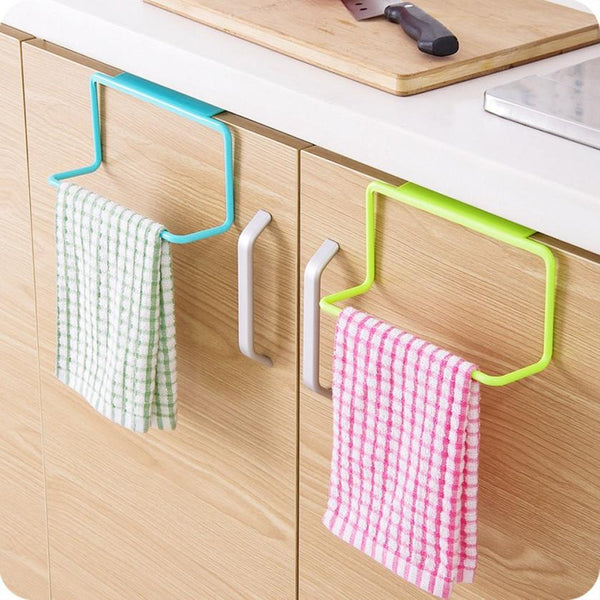 Kitchen Organizer Towel Rack Hanging