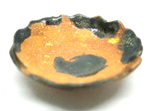 Miniature ceramic rustic stone like bowl
