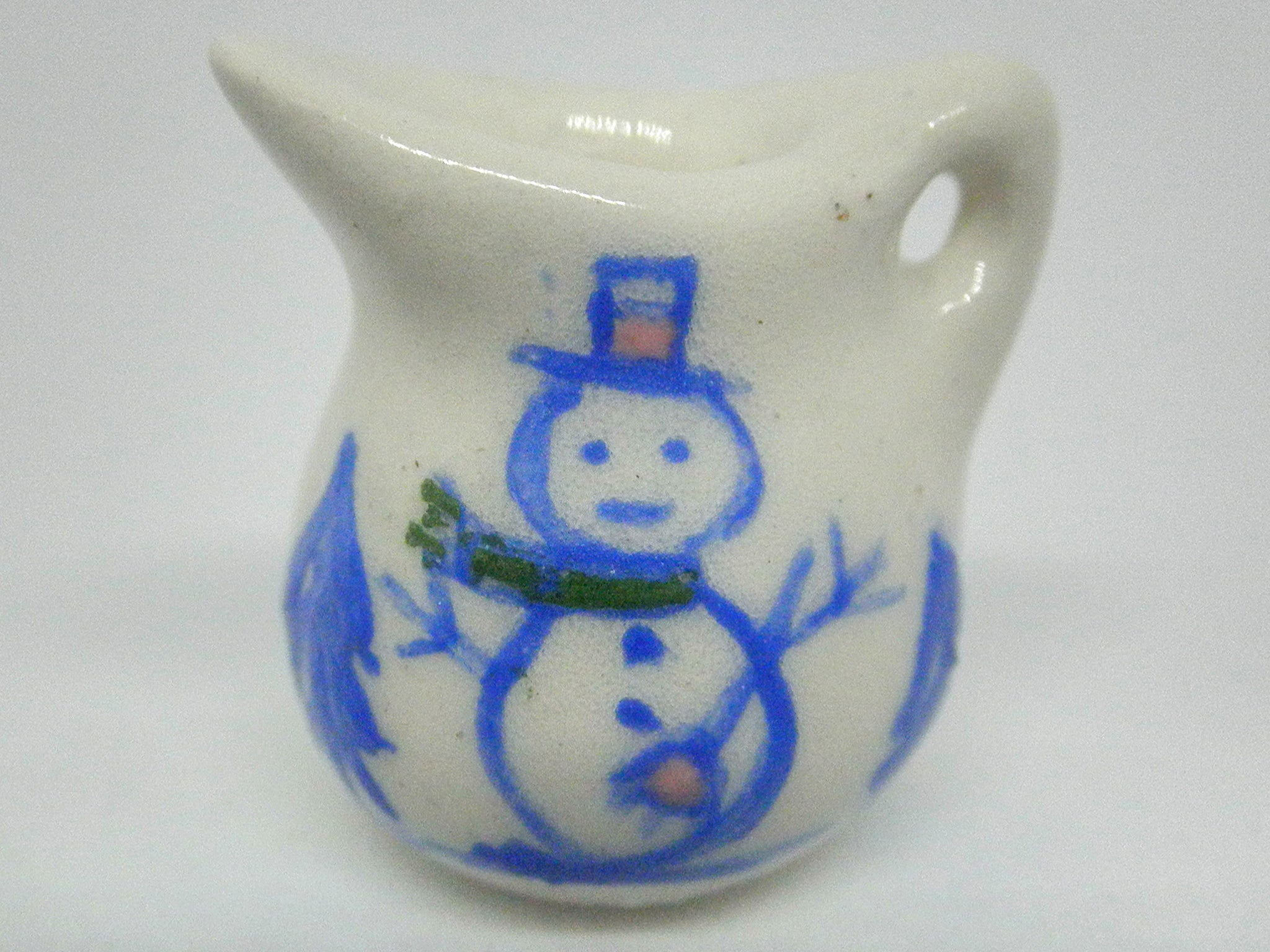 Country Style pitcher - Snowman