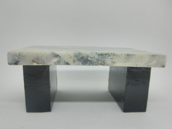 Real stone coffee table 1/12th scale