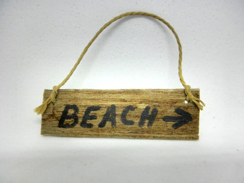Miniature nautical wall decor beach sign