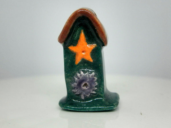 Miniature 1/12th scale tall bird house