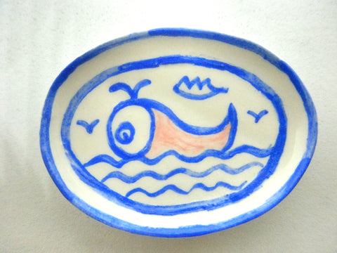 Miniature1/12th dish - Whale