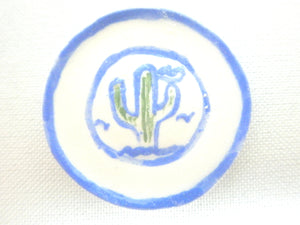 Country Style plate - Cactus