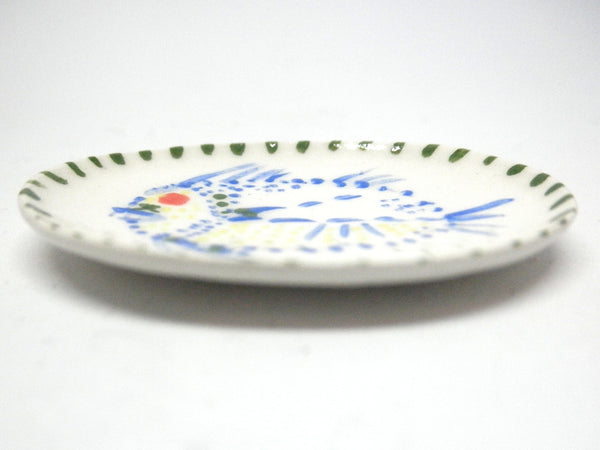 Miniature Picasso inspired ceramic dish - fish