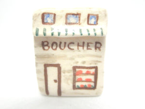 Ceramic French cottage - Butcher shop