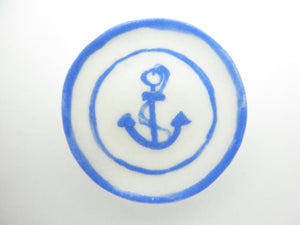 Country Style plate - Anchor