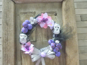 Miniature Halloween Gothic wreath