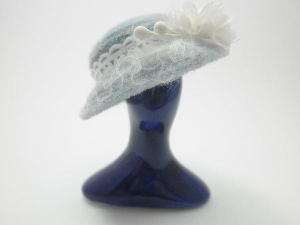 Miniature Hat stand - saphire blue