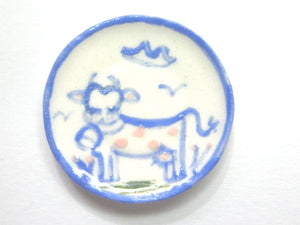 Country Style plate - Cow