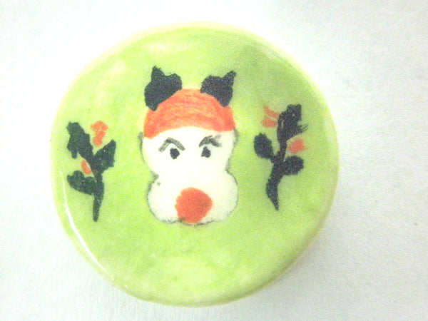 Miniature Christmas plate - Rudolph