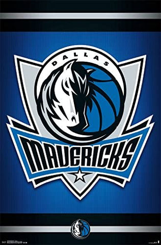 Dallas Mavericks Logo Poster