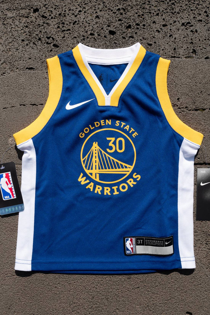 hot sale online 24f19 dc17a [Nike/NBA] Replica icon Warriors Curry Toddler jersey 19/20
