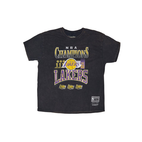 L.A LAKERS VINTAGE CHAMPIONS TEE