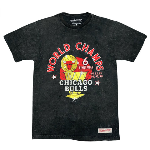 M&N Chicago Bulls World Champs Tee
