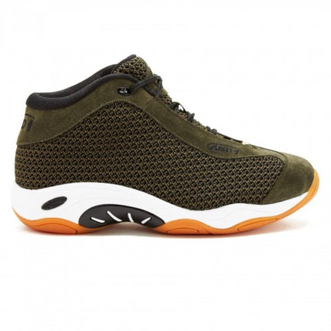 AND1 TAI CHI MID - OLIVE/BLACK/GUM