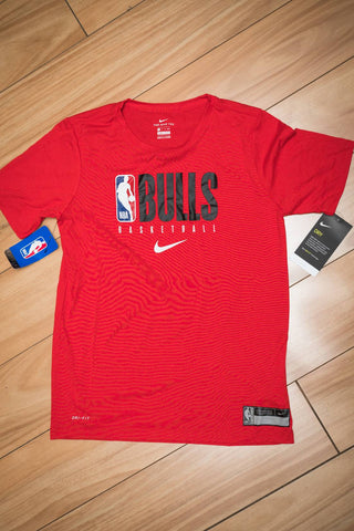 Chicago Bulls Youth Practice GPX SS Tee 19/20