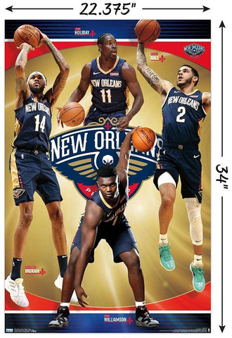 New Orleans Pelicans Team Poster