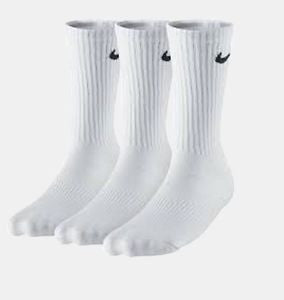 "Nike ""Youth"" Performance Cotton Cushioned Socks"