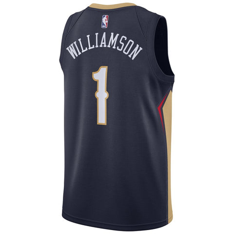 New Orleans Pelicans Zion Williamson Icon Edition Swingman Jersey