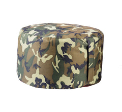Durable Woodlands Camo Bean Bag Pouf