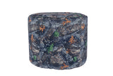 Durable Backwoods Camo Large Pouf Ottoman