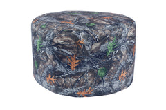 Durable Backwoods Camo Bean Bag Pouf
