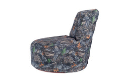 Durable Backwoods Camo Kids Bean Bag Chair
