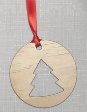Load image into Gallery viewer, Wooden Christmas Decorations