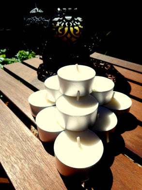 Soy Wax tealight candles - unscented