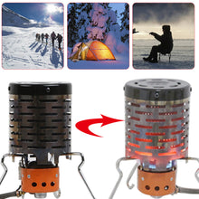Load image into Gallery viewer, Mini Far Infrared Outdoor Camping Stove Tent Heating Cover