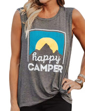 Load image into Gallery viewer, Women's Happy Camper Tank