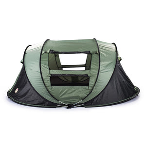 4-Person Dome Family Tent w/ Anti-UV For Hiking