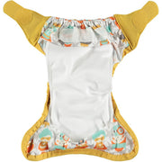Single Printed Newborn Nappy - Bliss Superhero Collection