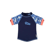 Short Sleeve Rash Vest - Endangered Ocean Collection