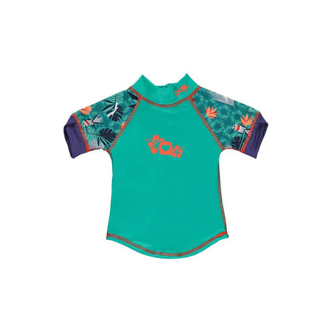 Short Sleeve Rash Vest - Endangered Animals Collection 2020