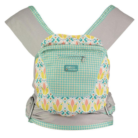 Caboo + Cotton Blend Printed Baby Carrier -Printed Carriers