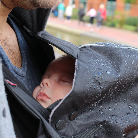 Caboo Cocoon Weather Protector for Baby Carrier