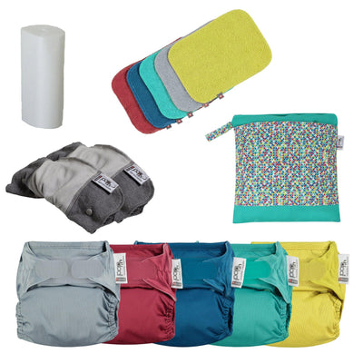 Gloucestershire real nappy pack 2020- New Gen V2 Bamboo *GLOUCESTERSHIRE RESIDENTS ONLY