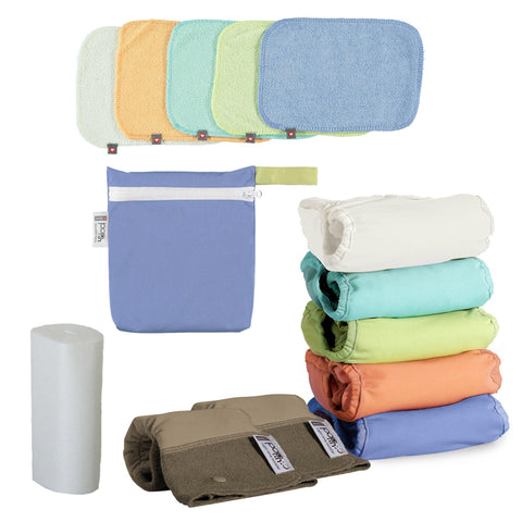 Gloucestershire real nappy pack - New Gen V2 Bamboo *Gloucestershire RESIDENTS ONLY