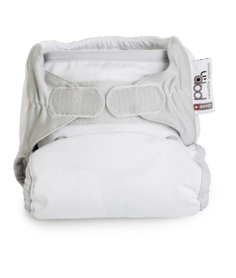 Single Plain Nappy Bamboo Unisex
