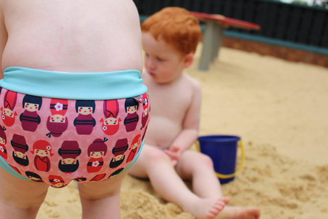 Swim Nappy - Retro Collection