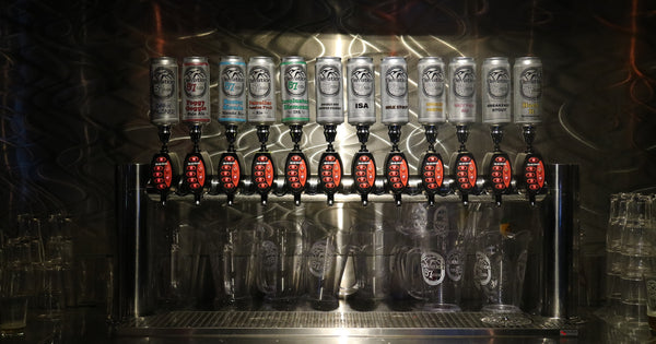 Elevation 57 Draught Tap Beers at Sessions Taphouse and Grill Big White Ski Resort Kelowna Canada