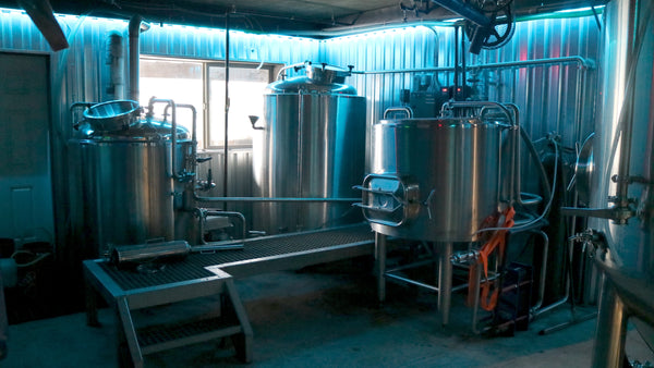 Elevation 57 Brewing Co Tanks